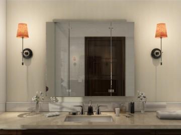 klappspiegel spiegel 3 teilig klappbar nach maß  klappspiegel sind praktisch und schon #7