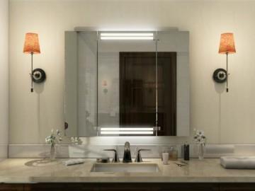 Klappspiegel spiegel 3 teilig klappbar nach ma - Spiegel 3 teilig klappbar ...