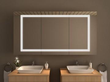 spiegelschr nke mit beleuchtung nach ma. Black Bedroom Furniture Sets. Home Design Ideas