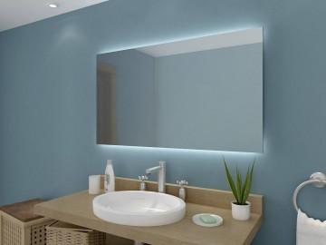 Beleuchtung oben unten - Badspiegel led hinterleuchtet ...