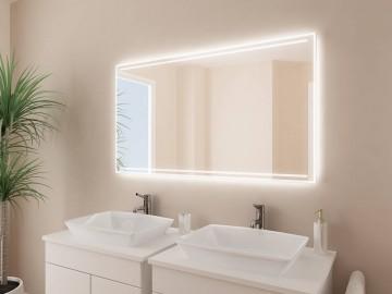 badspiegel mit licht konfigurieren sie selbst. Black Bedroom Furniture Sets. Home Design Ideas