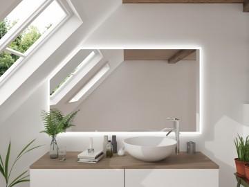 Dachschrägenspiegel nach Maß | Wandspiegel für Ihr Bad mit ...