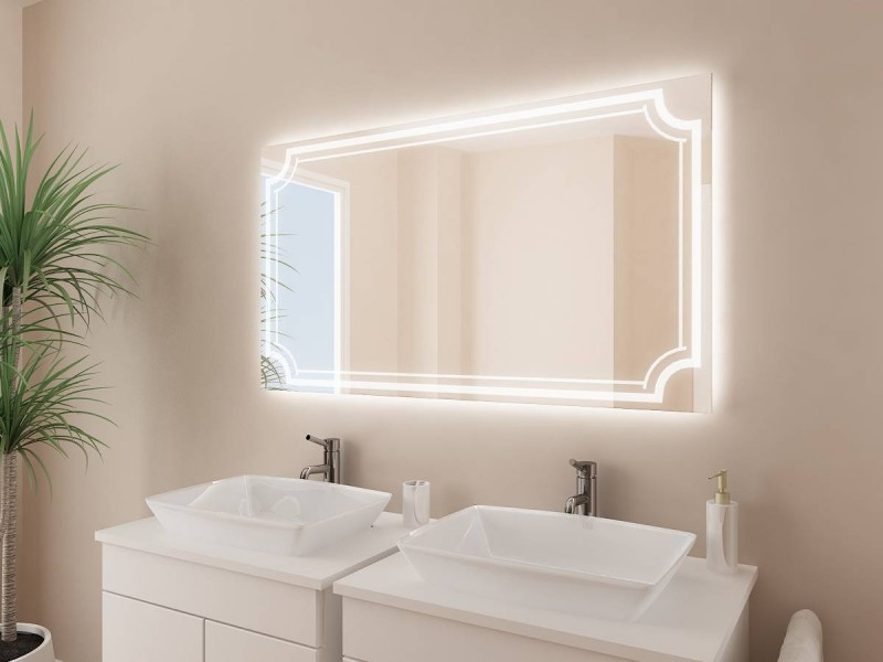 Badspiegel nach Maß Arianna
