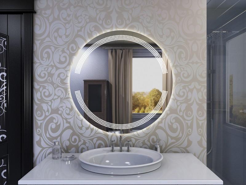 Runder LED Spiegel Astoria