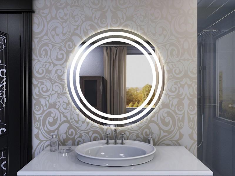 LED Lichtspiegel rund Cara