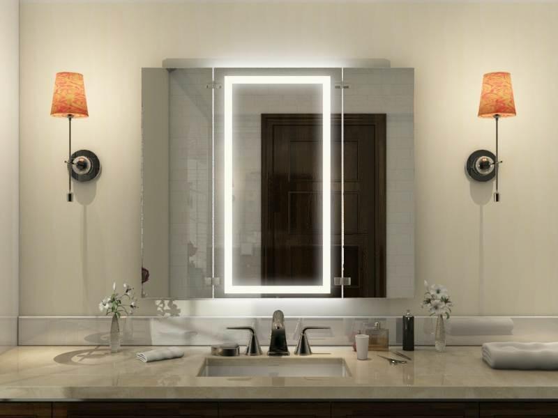 Badspiegel klappbar Taos