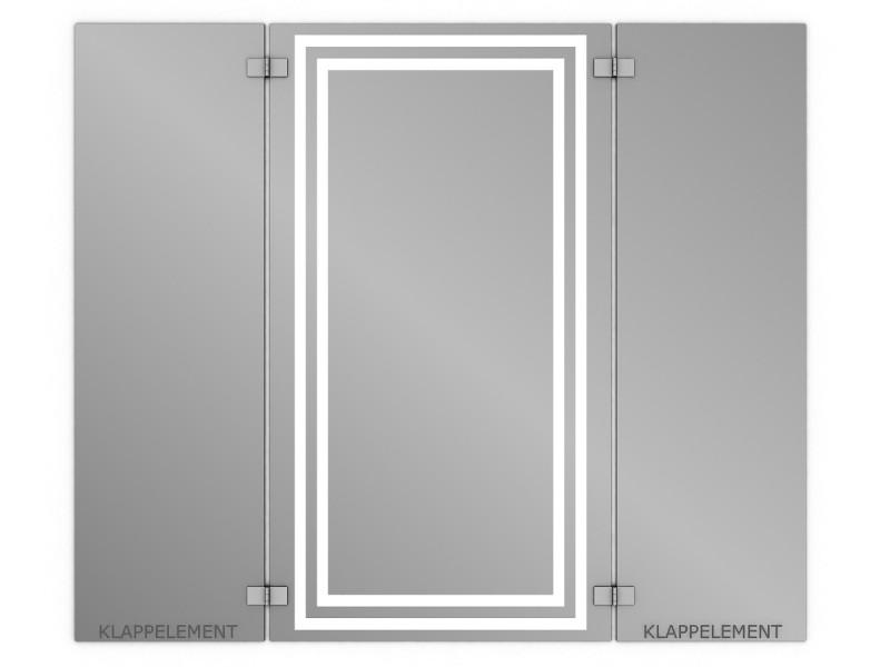 klappspiegel 3 teilig yakama. Black Bedroom Furniture Sets. Home Design Ideas