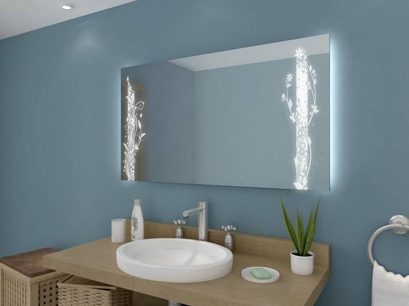 Spiegel mit Beleuchtung Indra