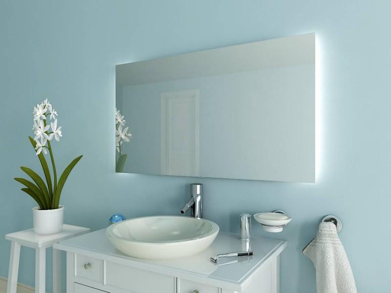 Badspiegel mit Beleuchtung Kita