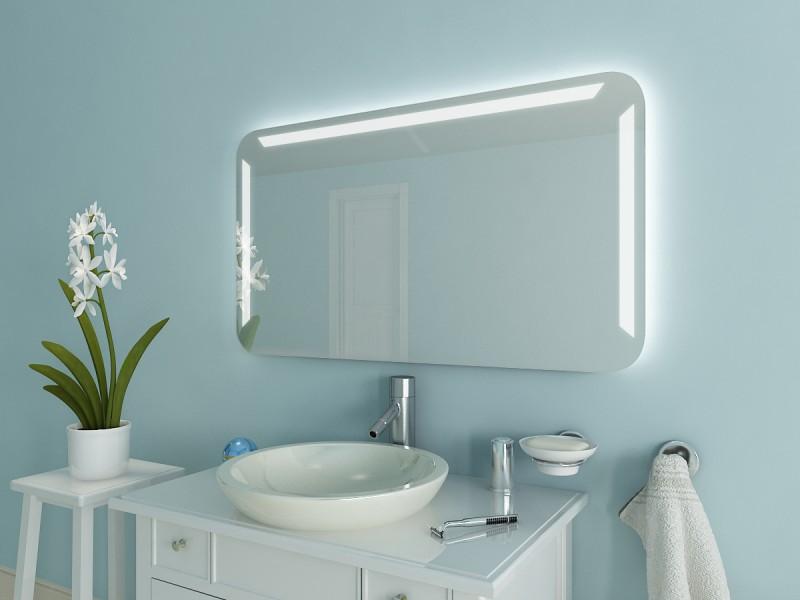 Badspiegel mit Rundbögen Deanna