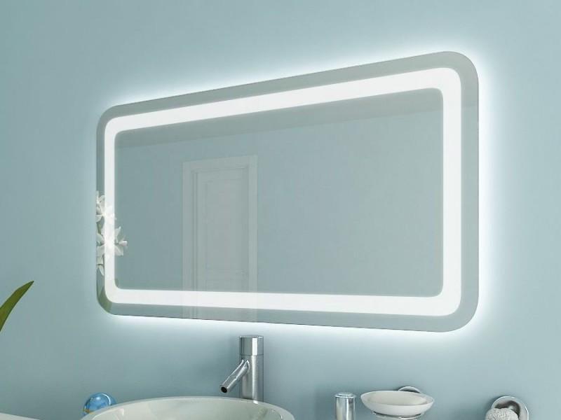 Spiegel mit abgerundeten Ecken Kaska