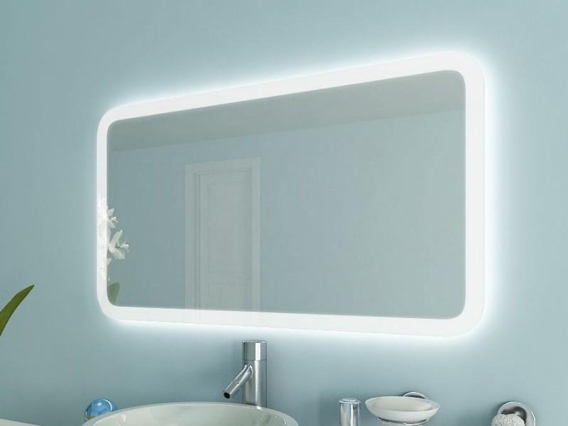 Spiegel mit abgerundeten Ecken Nahani