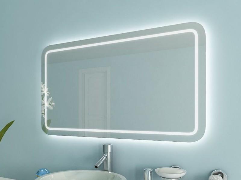Badspiegel Ecken abgerundet Antea