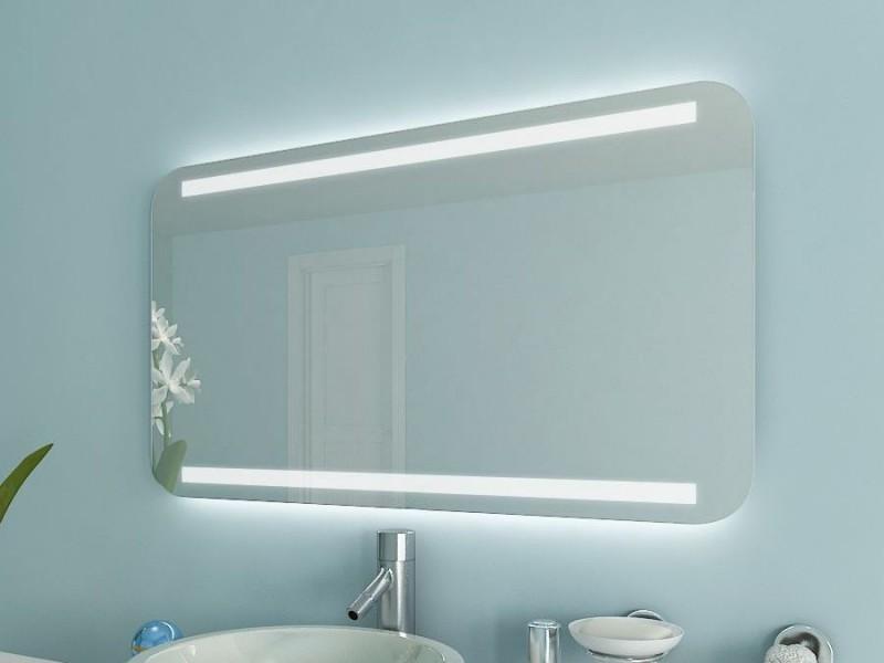Badspiegel mit runden Ecken Bella