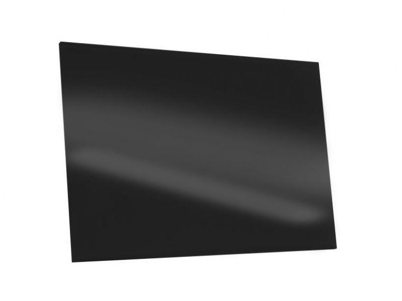 schwarze k chenr ckwand aus glas nach ma spritzschutz k che. Black Bedroom Furniture Sets. Home Design Ideas