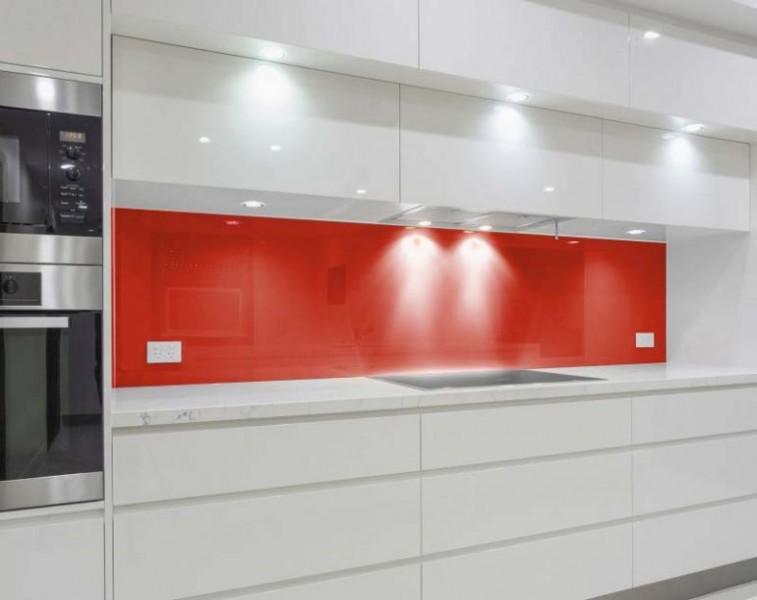 Küchenrückwand, Nischenrückwand - ROT / SIGNALROT - REF 3001