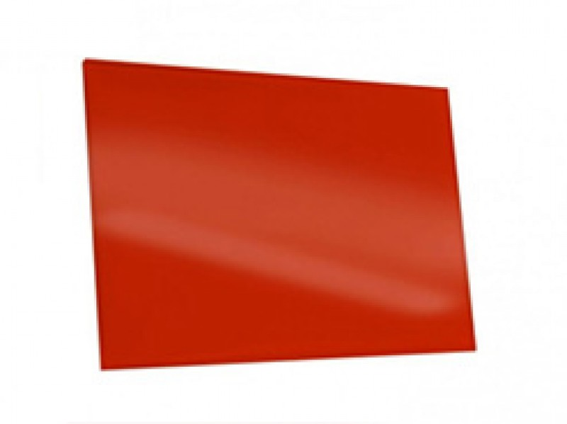 Lackiertes Glas - ROT / SIGNALROT - REF 3001