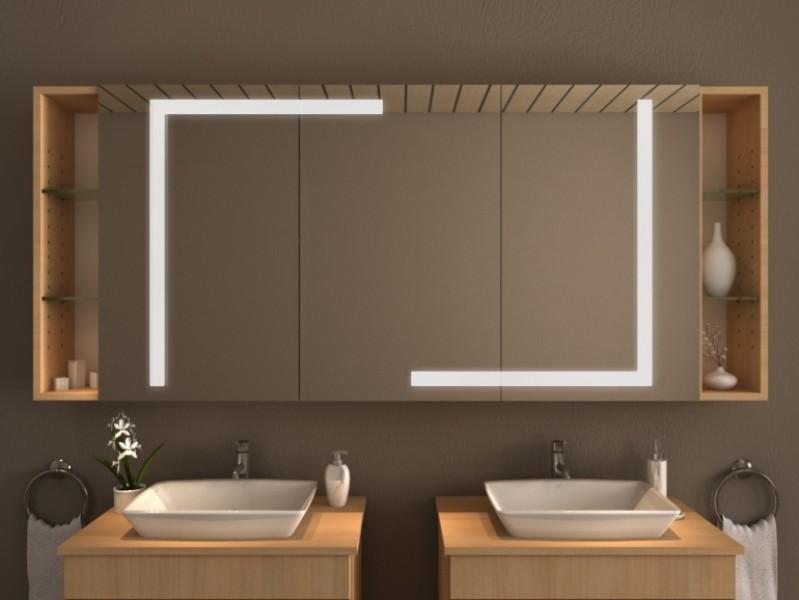Spiegelschrank mit Beleuchtung - Colima