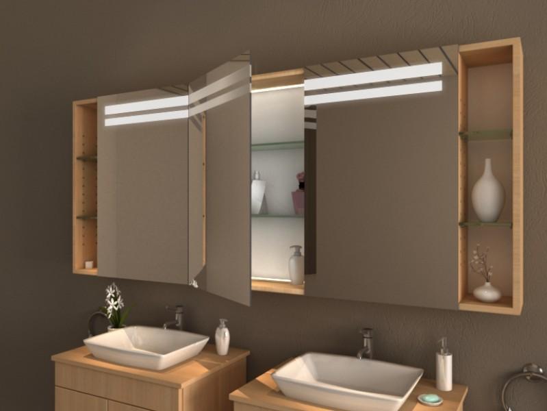 einbauspiegelschrank granada. Black Bedroom Furniture Sets. Home Design Ideas