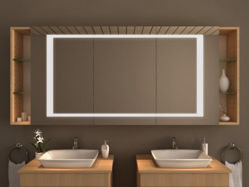 Spiegelschrank mit Beleuchtung - Jabali