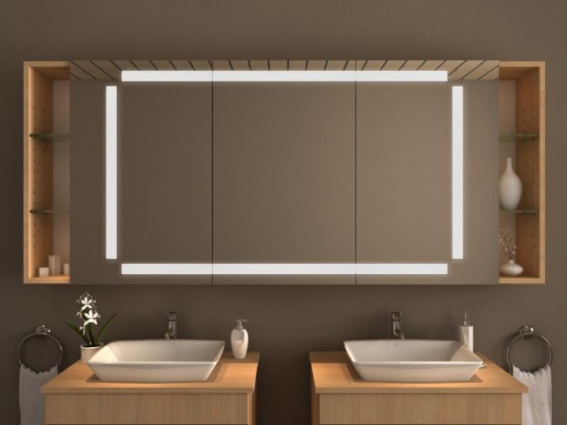LED Spiegelschrank - Condor