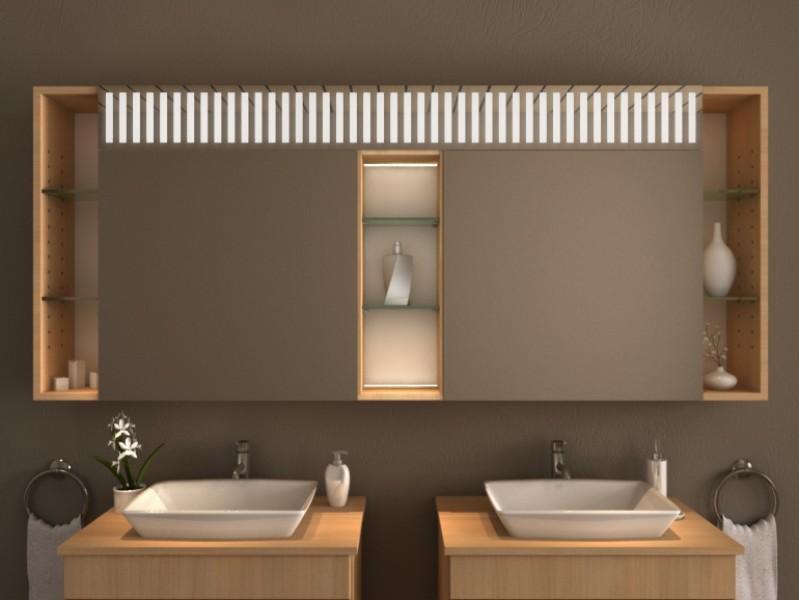 Spiegelschrank mit Beleuchtung - Alid