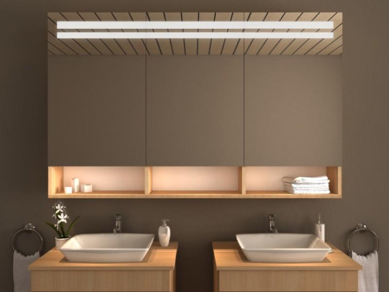 LED Spiegelschrank - Saba