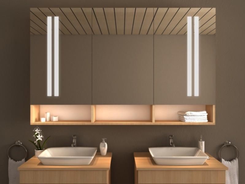 Spiegelschrank mit Beleuchtung - Pago