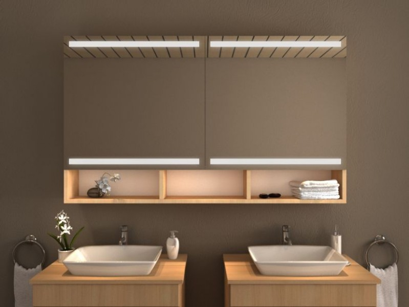 Spiegelschrank mit Beleuchtung - Gobi