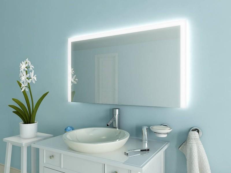 Spiegel mit Beleuchtung Maska