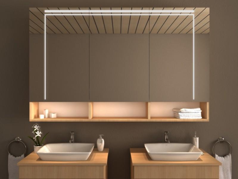 LED Spiegelschrank - Aliso