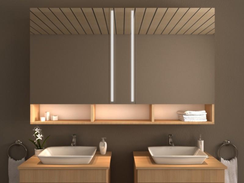 LED Spiegelschrank - Amiata