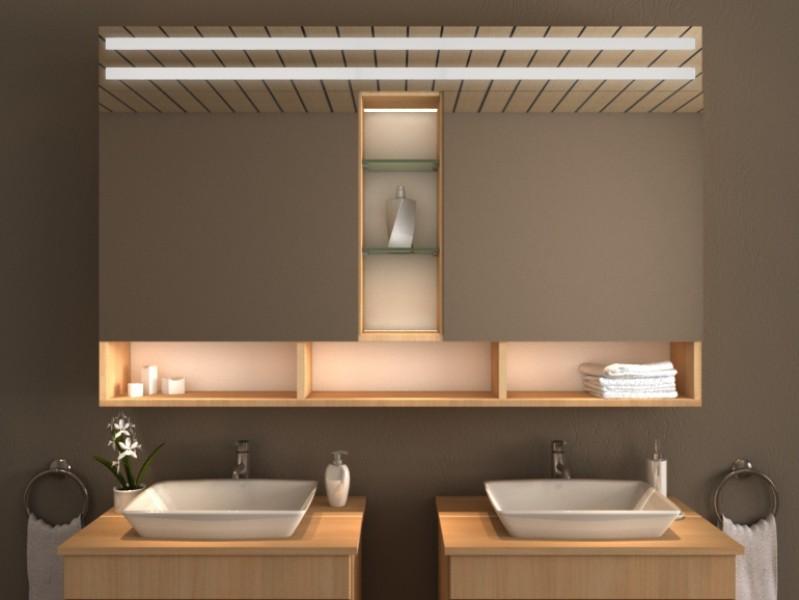 LED Spiegelschrank - Nekoma