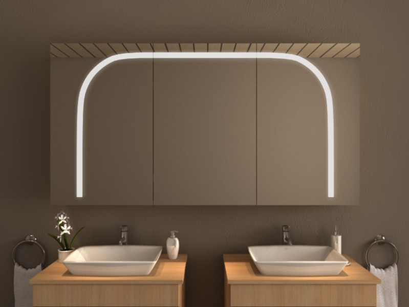 Spiegelschrank mit Beleuchtung - Alegria