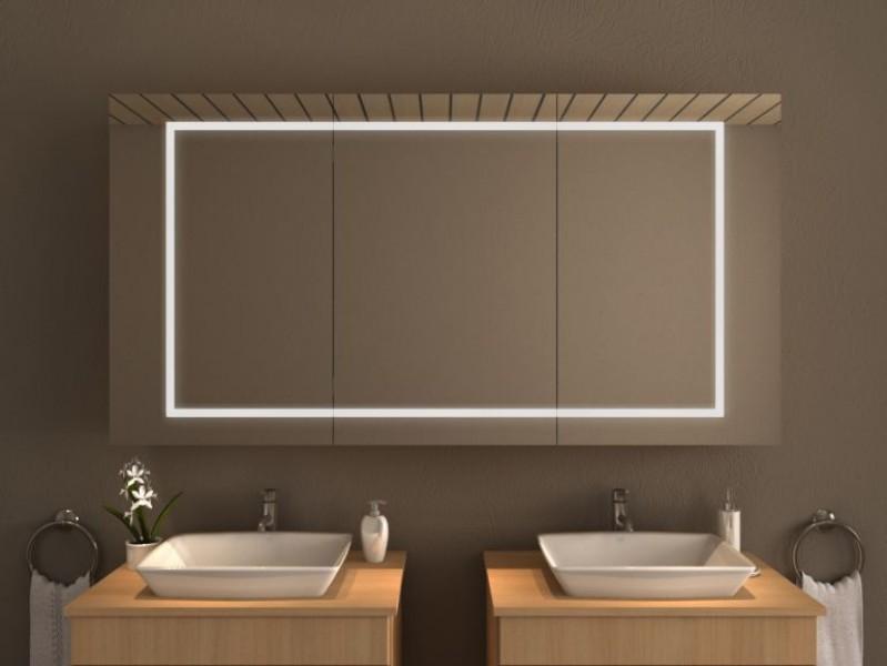 Spiegelschrank mit Beleuchtung - Yang