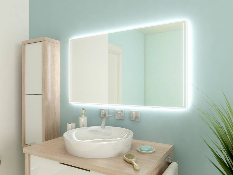 Beleuchteter Spiegel Askanios