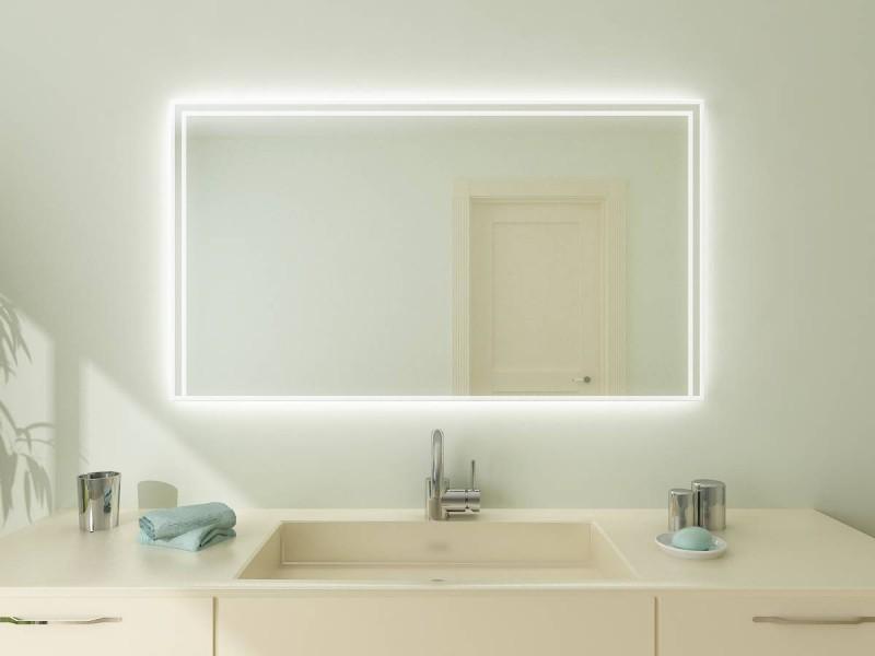 beleuchteter spiegel minos. Black Bedroom Furniture Sets. Home Design Ideas