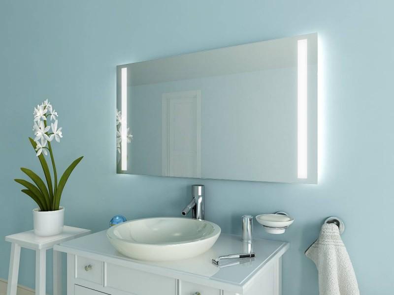 Badspiegel mit Beleuchtung Kono