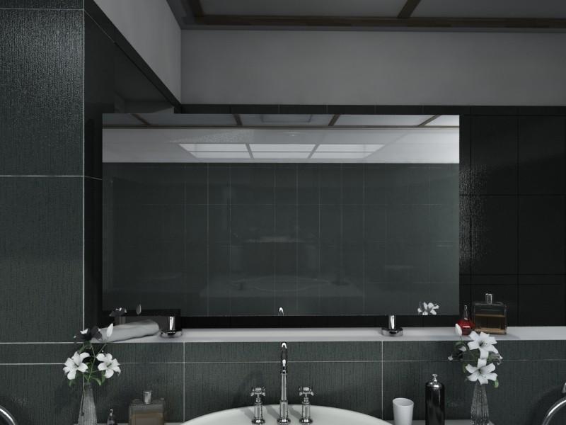 Spiegel Raumteiler ohne Beleuchtung