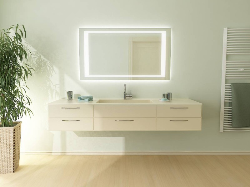 badspiegel mit led beleuchtung minerva. Black Bedroom Furniture Sets. Home Design Ideas